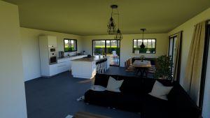 Maison à vendre : Maison de 95m carres avec garage sur Chaleins, Maisons d'en France 01