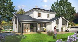 Modèle de maison personnalisable Blue Lagoon, Maisons d'en France 01