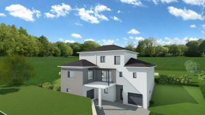 Modèle de maison personnalisable CHANU, Maisons d'en France 01
