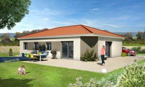 Modèle de maison personnalisable Due, Maisons d'en France 01