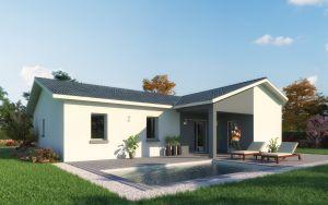 Modèle de maison personnalisable Lavezzi, Maisons d'en France 01
