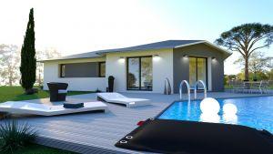 Modèle de maison personnalisable Tahiti, Maisons d'en France 01