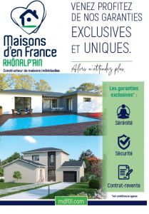Nos garanties exclusives, Maisons d'en France 01