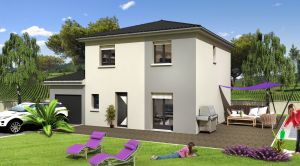 Maison à vendre : Anse, Maison de 103m2 avec garage de 22m carres sur un terrain de 350m carres !, Maisons d'en France 01