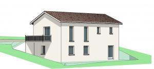 Maison à vendre : RARE sur les hauteurs de Reyrieux ! Vue dominante sur les Monts du lyonnais pour cette maison 116m carres avec garage !, Maisons d'en France 01