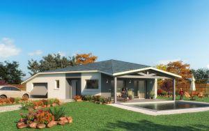 Maison à vendre : Saint André de Corcy : Maison de plain pied de 114m carres sur un terrain de 800m carres !!!, Maisons d'en France 01